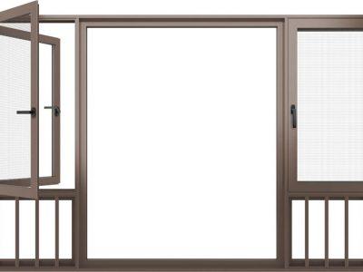 HSW120窗纱一体整窗